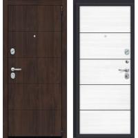 Дверь входная Porta S 4.П50 (AB-6) Almon 28/Snow Veralinga