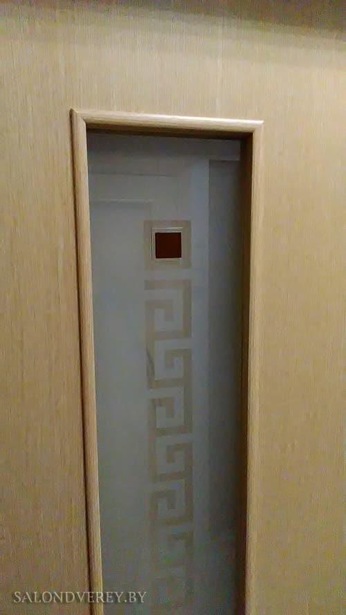 Межкомнатная дверь ПО С17 квадрат