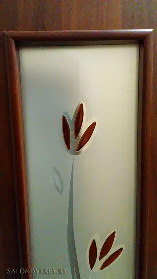 Межкомнатная дверь ПО С17 тюльпан